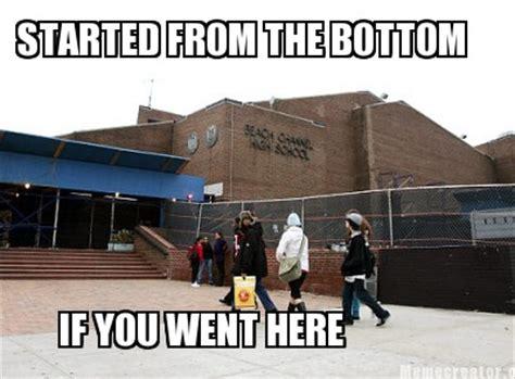 Drake Meme Started From The Bottom - drake started from the bottom meme memes