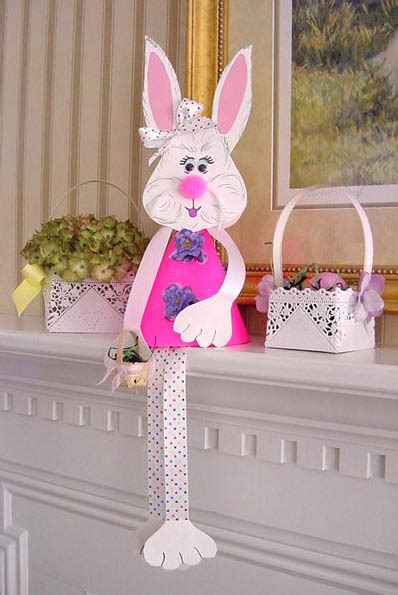 easter bunny craft projects craftionary