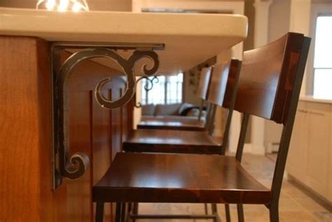 Kitchen Countertop Support - keaton wrought iron corbel traditional kitchen atlanta by iron accents