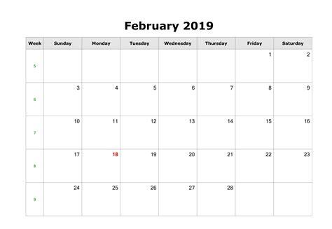 february  blank calendar september calendar
