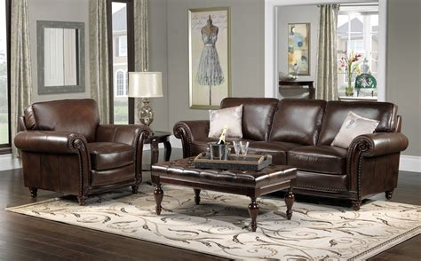 Brown Leather Decor by House Decor Ideas For Brown Leather Furniture Gngkxz