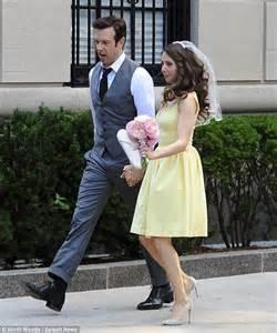 alison brie wedding olivia wilde s jason sudeikis kisses alison brie in
