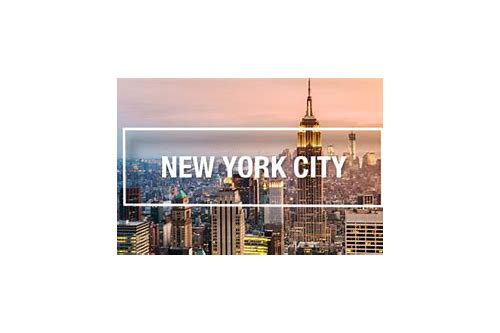 travel agents deals to new york