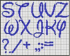 abecedario en punto de cruz para imprimir alfabeto con letras may 250 sculas tipo disney para punto de