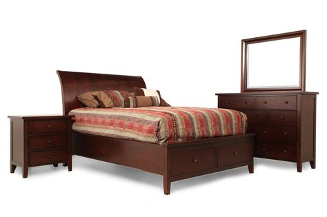 winners only vintage cherry suite mathis brothers furniture