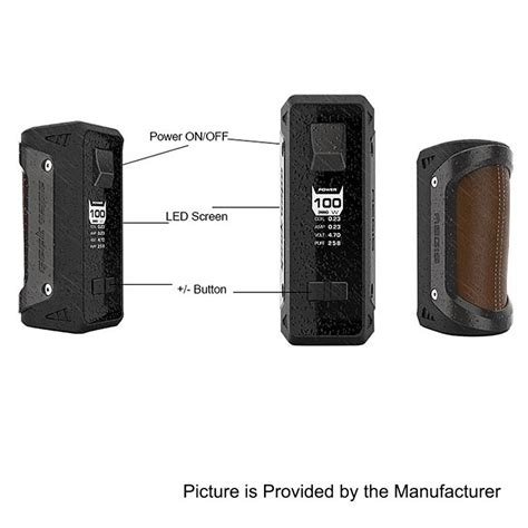 Aegis Water Proof 100w Mod By Geekvape Authentic authentic geekvape aegis 100w 4200mah water proof gun