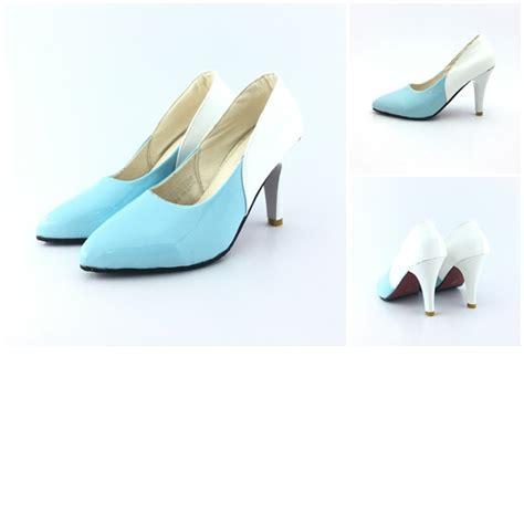 Sepatu High Heels 109 Pl jual shh3320 blue sepatu heels pesta wanita 8cm grosirimpor
