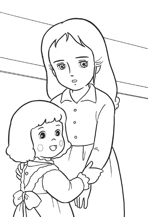 free coloring pages of little princess