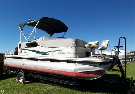 party boat used used tracker party barge boats for sale boats