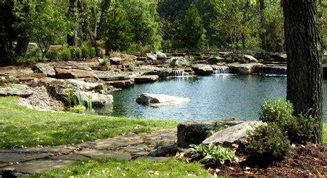 Natural Swimming Pool Pond Photo Gallery Design Backyard Pond Pool