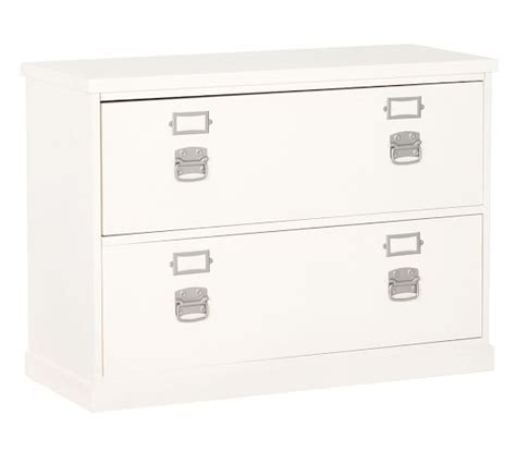 Lateral Filing Cabinets White Bedford Lateral File Cabinet Pottery Barn