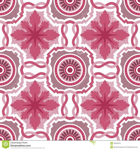 flower pattern wall tiles old floral tiles royalty free stock image image 35624976