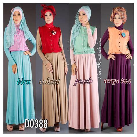 Blouse 2 Pcs Manset Plus Kaos Ld 110 busana muslim koleksi terbaru