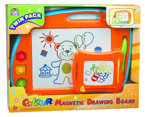 colour doodle drawing board pack colour magnetic drawing board from hop