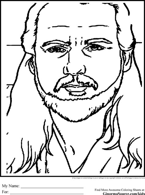 star wars coloring pages qui gon jinn coloring pages