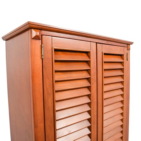 Unfinished Louvered Cabinet Doors Louvered Door Cabinet 3 Door Shoe Cabinet With Solid Doors 5642 Vf Quot Quot Sc Quot 1 Quot St Quot Quot Quality