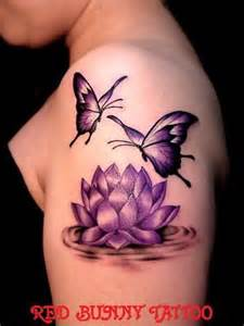 Lotus Flower And Butterfly 25 Best Ideas About Flower And Butterfly Tattoos On