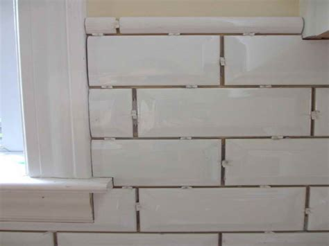 what is subway tile bathroom all about beveled subway tile with the patern