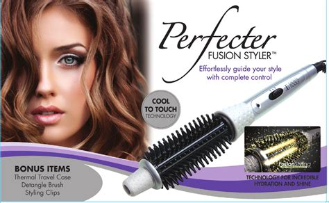 Hair Styler by Perfecter Fusion Styler Pered Presents