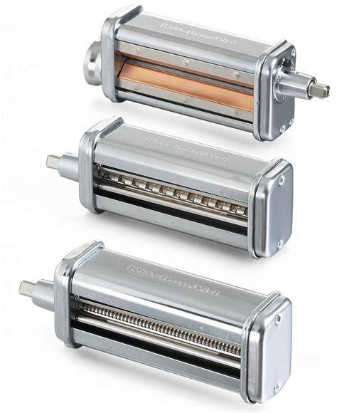 Kitchen Aid Pasta Attachments by Kitchenaid Kpra Pasta Roller Stand Mixer Attachment Set