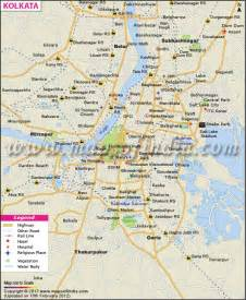 Kolkata India Map by Calcutta Map