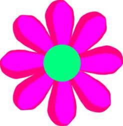 cartoon flower free clipart
