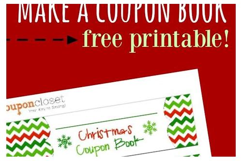 printable diy christmas coupons