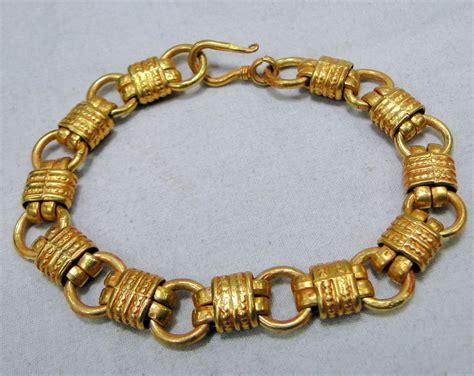 Gold Handmade Jewelry - gold bracelet 22 k gold vintage handmade jewelry 11912 ebay