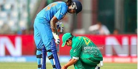 for india pak match world t20 this photo shows that india and pakistan are