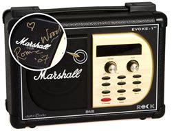 Ure Evoke 1xt Marshall Edition Dab Digital Radio For Aspiring Air Guitarists Everywhere by Bid For A Marshall Lifier Dab Radio Signed By