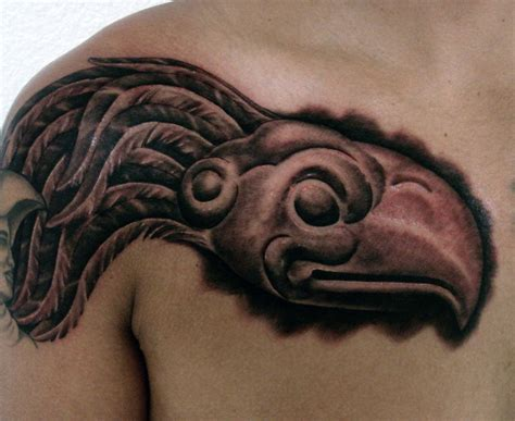 aztec eagle tattoo aztec eagle by tattoosbygoethe on deviantart