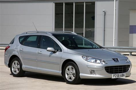 peugeot 407 estate peugeot 407 sw estate 2004 2011 pictures carbuyer