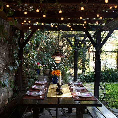 Outdoor Patio Lights Ideas Outdoor Lighting Ideas For Added Sparkle 171 Bombay Outdoors