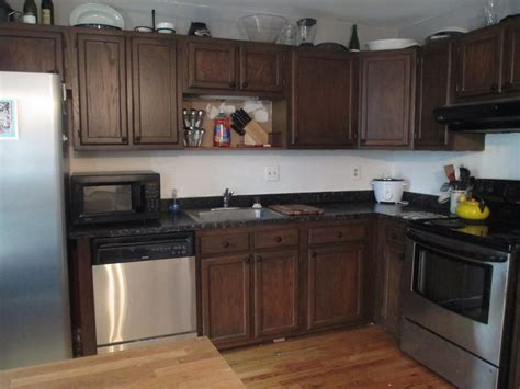 How To Restain Kitchen Cabinets Yourself Restaining Kitchen Cabinets Home Design Trend