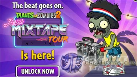 plants vs. zombies 2: neon mixtape tour quick walkthrough