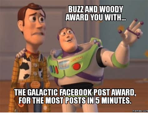 Buzz And Woody Meme - 25 best memes about woody award woody award memes