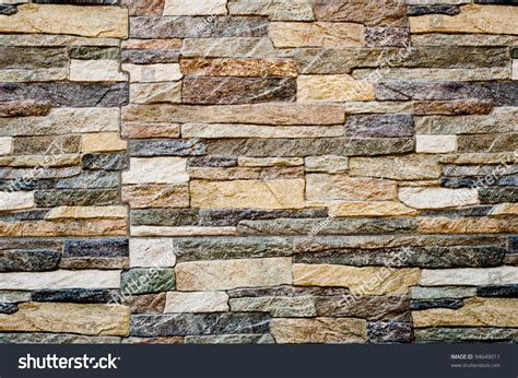 modern stone wall texture modern stone wall background texture stock photo 94649011
