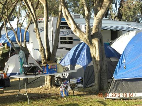 Diego Play Tent tents covered the area around the rv picture of