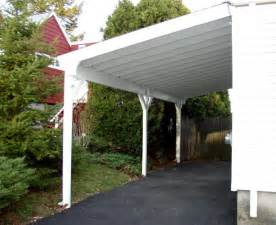 Carport Attached To Garage by Building A Carport Preparation Part 1 Of 3 The Diy Hq