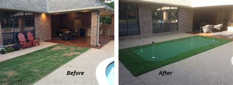 making a putting green in backyard do it yourself putting greens custom putting greens