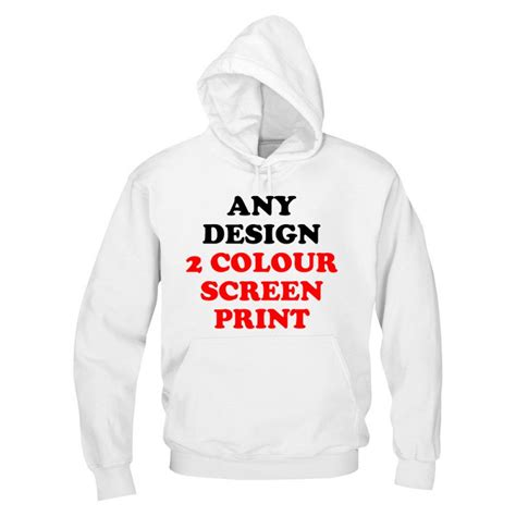 design a hoodie online uk personalised front custom design printed on hoodie two colours