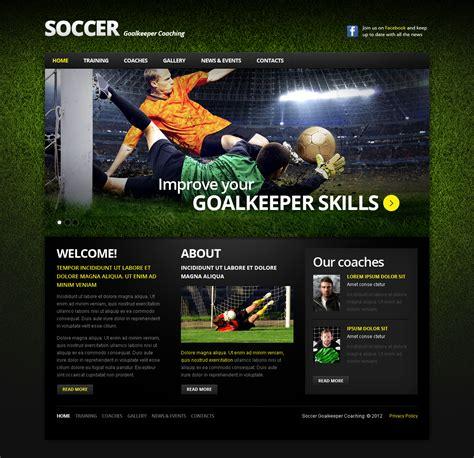 soccer html template soccer moto cms html template 42094