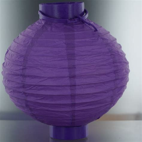 Lighted Paper Lanterns by Purple Lighted Battery Led Powered Decorative