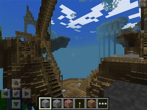 minecraft pe map minecraft pe worlds treehouse