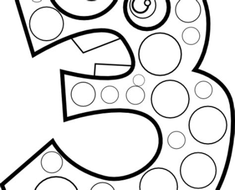 Free Coloring Pages Of Number 13 Number 13 Coloring Page