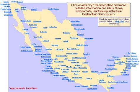 Search In Mexico Cities In Mexico