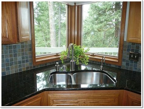 corner sink kitchen design 25 creative corner kitchen sink design ideas