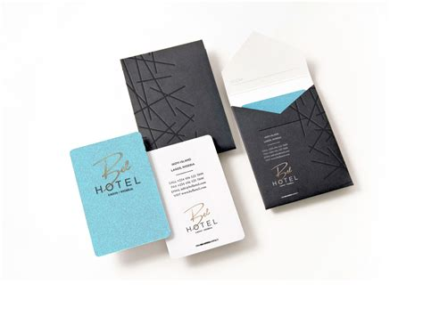 Hotel Key Card Template by Bel Hotel For Mike Adenuga Hotel Concept Branding By