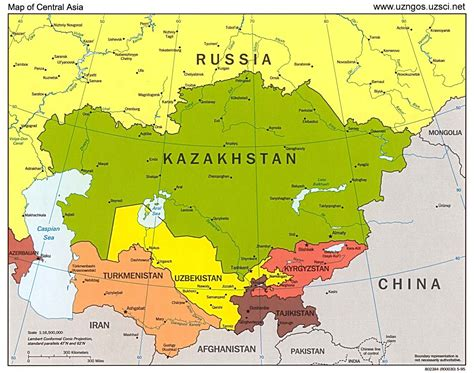 map of central term quot central asia quot only