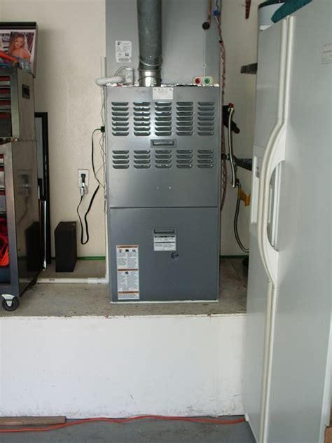 House Furnace In Garage upflow furnace in garage yelp